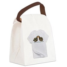 Eyes Are Up Here Boys3 Canvas Lunch Bag