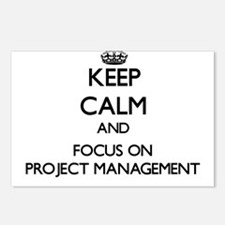 Keep Calm and focus on Pr Postcards (Package of 8)