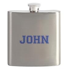 JOHN-var blue Flask
