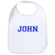 JOHN-var blue Bib