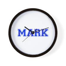 MARK-var blue Wall Clock