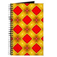 Colorful Kaleidoscope Pattern Journal