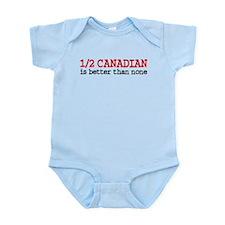 Half Canadian Infant Bodysuit