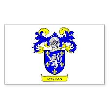 DALTON 2 Coat of Arms Rectangle Decal