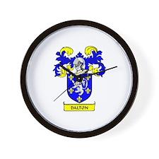 DALTON 2 Coat of Arms Wall Clock