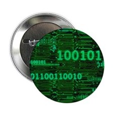 """Binary Numbers 2.25"""" Button"""