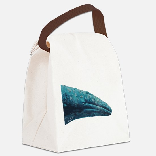 CHECK IT OUT Canvas Lunch Bag
