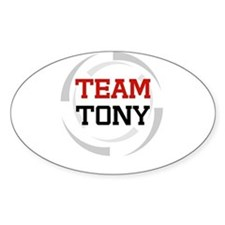 Tony Oval Decal