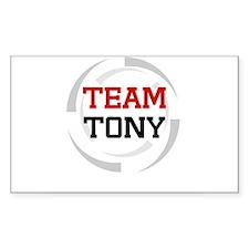 Tony Rectangle Decal