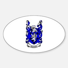 DALTON 1 Coat of Arms Oval Decal