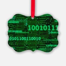 Binary Numbers Ornament