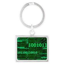 Binary Numbers Keychains