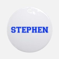 STEPHEN-var blue Ornament (Round)