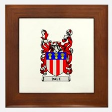 DALE Coat of Arms Framed Tile