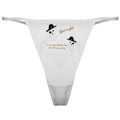Yarrgh, pirate thoughts! Classic Thong