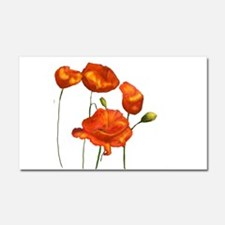 Poppies Car Magnet 20 x 12