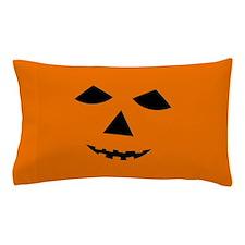 Jack-o-Lantern Face Pillow Case
