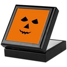 Jack-o-Lantern Face Keepsake Box