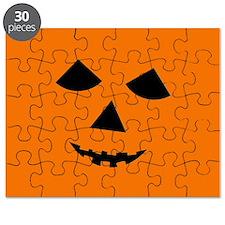 Jack-o-Lantern Face Puzzle