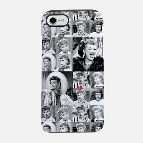 I Love Lucy Face Collage iPhone 7 Case