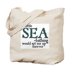 Sea Bathing Tote Bag #2