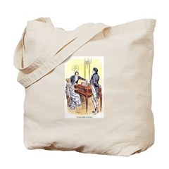 Frighten/Why Jane Tote Bag