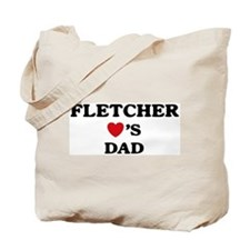 Fletcher loves dad Tote Bag