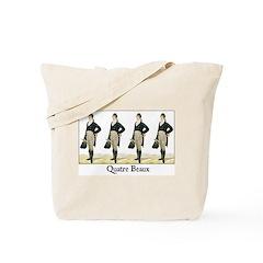 Quatre Beaux Tote Bag