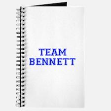 team BENNETT-var blue Journal