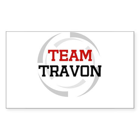 Travon Rectangle Sticker