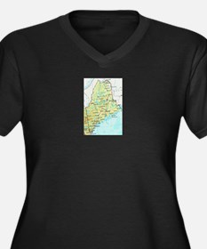 Maine Plus Size T-Shirt