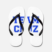 team CRUZ-var blue Flip Flops