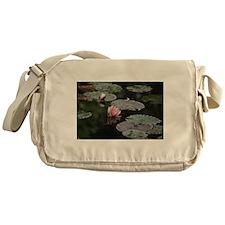 Lily pads Messenger Bag