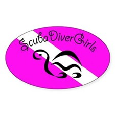 Cute For scuba divers Decal