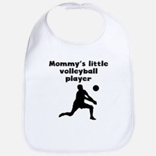 Mommys Little Volleyball Player Bib