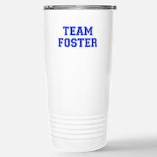 team FOSTER-var blue Travel Mug
