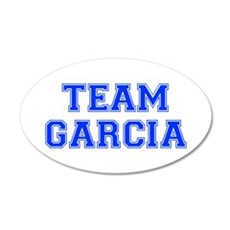 team GARCIA-var blue Wall Decal