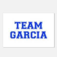 team GARCIA-var blue Postcards (Package of 8)