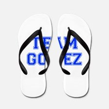 team GOMEZ-var blue Flip Flops