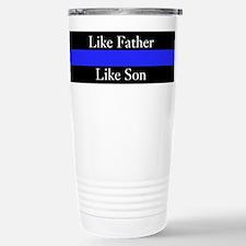 Police Like Father Like Son Travel Mug