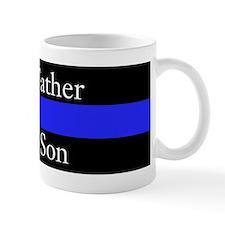 Police Like Father Like Son Mugs