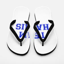 team HARRIS-var blue Flip Flops