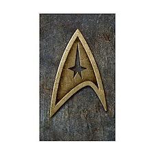 Star Trek Insignia Grunge Decal