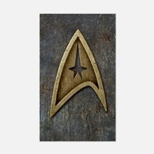 Star Trek Insignia Grunge Decal