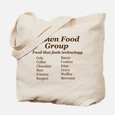 Brown Food Group Tote Bag