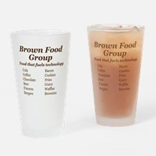 Brown Food Group Drinking Glass