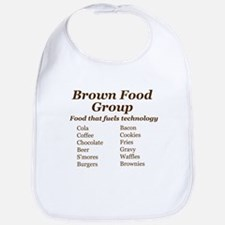 Brown Food Group Bib
