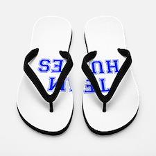 team HUGHES-var blue Flip Flops