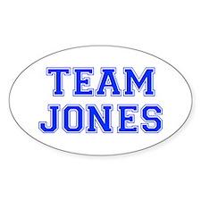 team JONES-var blue Decal