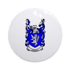 CREWE Coat of Arms Ornament (Round)